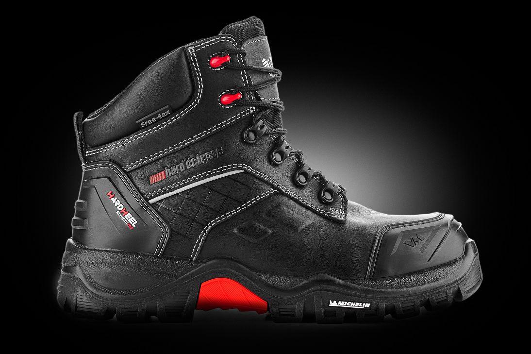 kotníková pracovní a bezpečnostní obuv - celokožená s membránou c3f6963fdc6
